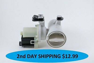 Whirlpool W10130913 Water Drain Pump Motor Washer New Priority Shipping