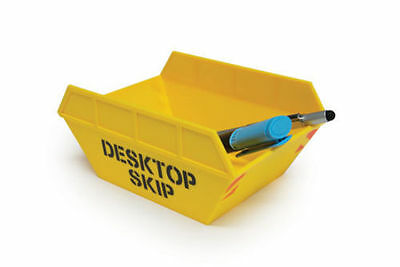 Desk Top Office Skip Help Keep Your Work Space Tidy 18 Cm In Length - Ref3036