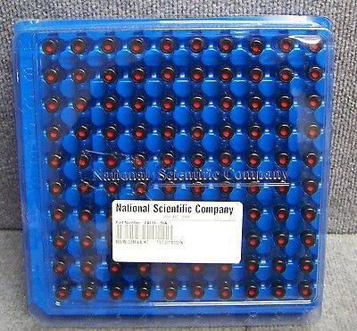 National Scientific C4013-S16A Silanized Assembled Clear Vials Qty Of 1000 Vials