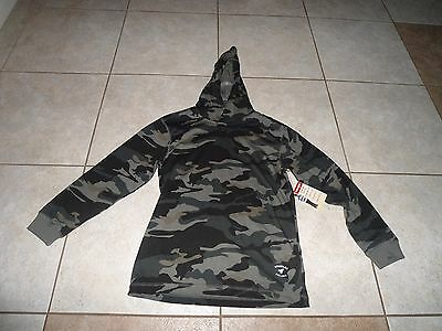 Boys Girls Camouflage Pullover Hoodie Shirt Top 6 7  Youth New Clothes Wrangler