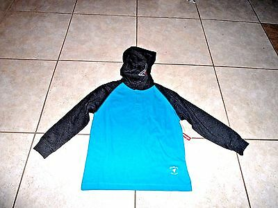BOYS GIRLS blue PULLOVER HOODIE SHIRT TOP 6 7  YOUTH NEW CLOTHES WRANGLER