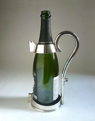 Mappin & Webb Antique BOTTLE HOLDER. c.1900 Silver Plate Champagne Stand