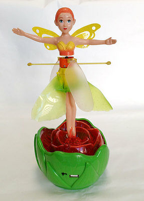 Magical Flying Fairy Princess Doll. Girls Educational Toy. GREEN