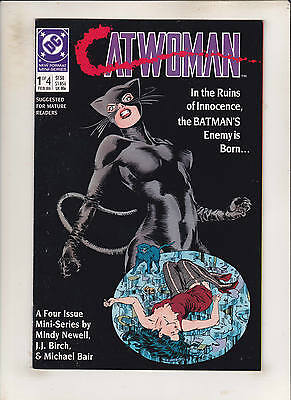 Catwoman 1 2 3 4 Complete 1989 Four Issue Limited Series!