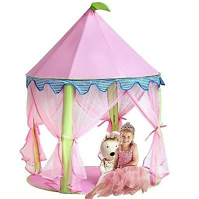 Princess Castle TentSonyabecca Tent for Girls Pop up Tent Pink