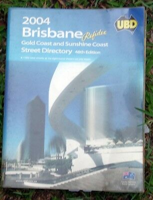 BRISBANE  UBD STREET DIRECTORY (REFIDEX) 48tH  EDITION 2004. vgc