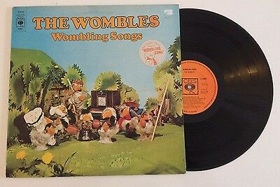 The Wombles 1973 Wombling Songs CBS 65803 Vinyl LP Record