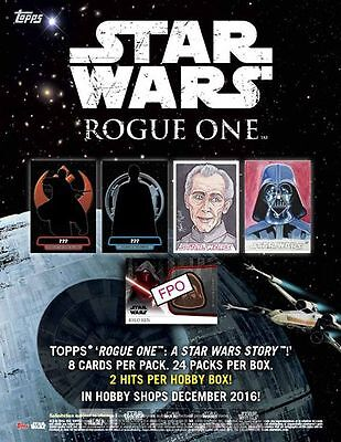Topps Star Wars Rogue One Trading Card Hobby Box New/Sealed