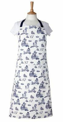 Churchill - Blue Willow Apron (Made in England)