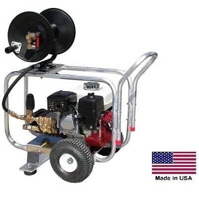 DRAIN CLEANER JETTER Commercial - 4 GPM - 4000 PSI - 13 Hp Honda - GP Pump