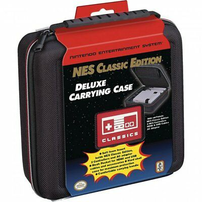 RDS Industries Deluxe Carrying Case for Nintendo NES/SNES Mini Classic Console