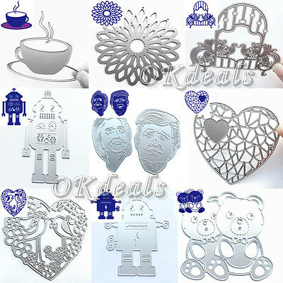 NEW DIY Cutting Dies Stencil For Scrapbooking Album Embossing Paper Card Decor