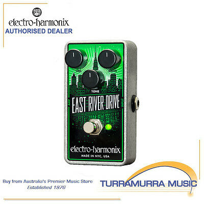 Electro Harmonix East River Drive Overdrive Effect FX Pedal EHX