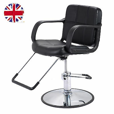 Classic Hydraulic Barber Chair Salon Spa Shaving Styling Hairdressing Threading