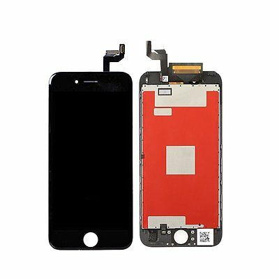 """Black Replacement Assembly LCD Screen Touch Digitizer For iPhone 6S 4.7"""" EE#A"""