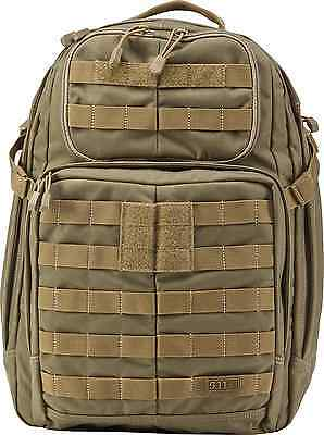 5.11 Tactical Series Rush 24 Tactical Backpack, Sandstone