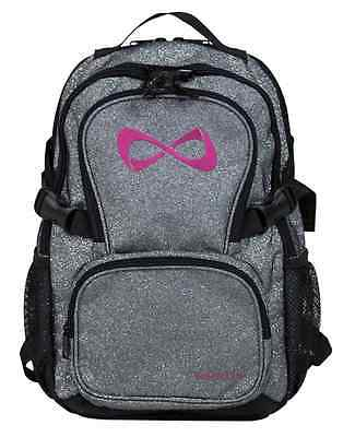 Nfinity Sparkle Petite Backpack, Grey/Pink