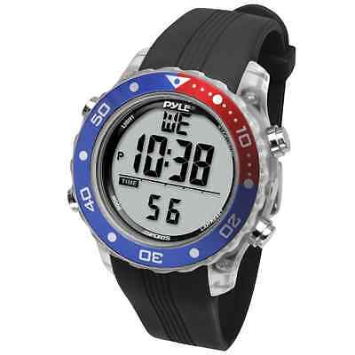 Pyle-Sport PSNKW30BK Snorkeling Master with Dive Duration Depth Water Temp Max 1