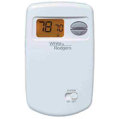 White-Rodgers Emerson 1E78-140 Non-Programmable Heat only Thermostat for Single-