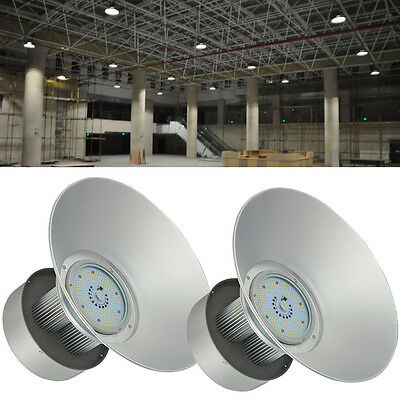 2X 150W LED High Bay Light Lamp Industrial Factory Warehouse Shed Lighting SMD