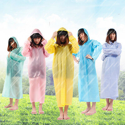 Disposable Outdoor Camping Travel Hiking Emergency Rain Coat Raincoat Poncho