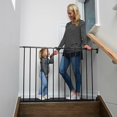Childcare Baby Child Safety Gate Pet Barrier BLACK #`089345-002