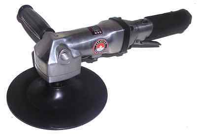 Canadian Tool and Supply 7-Inch Air Angle Buffer / Polisher with 5/8-11nc Arbor