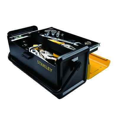 STANLEY 19-Inch Metal Tool Box with One Drawer (STST19501)