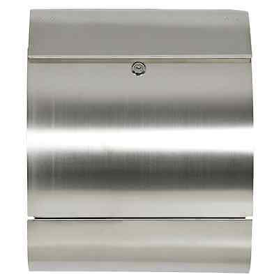 Best Choice Products SKY166 Stainless Steel Mailbox