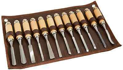 Grizzly G8083 Carving Chisel Set, 12-Piece