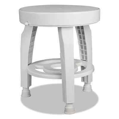 HealthSmart Rotating Bath and Shower Stool Chair with Germ-Free Protection and S