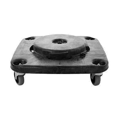 Rubbermaid Commercial HDPE Brute Square Dolly for Container, 250-Pound Capacity,