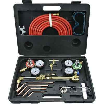 Neiko 10921 Gas Welding and Cutting Torch Kit Victor Type with Case