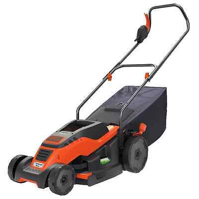 BLACK + DECKER EM1500 15-Inch Corded Mower with Edge Max, 10-Amp
