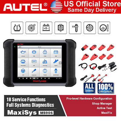 Autel MaxiSys MS906 OBD2 Auto Diagnostic Tool Scanner Faster Than MaxiDas DS708