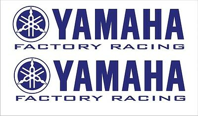 30Cm Yamaha Factory Racing R1 R6 Yzf Sticker Decal Badge Emblem Fairing Vinyl