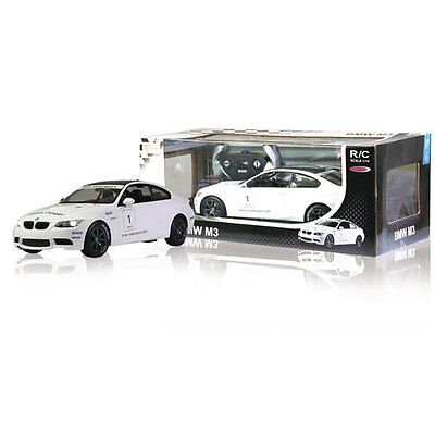 Jamara Remote Control Car BMW M3 Sport RTR / With Lights 1:14 White JAM-403070