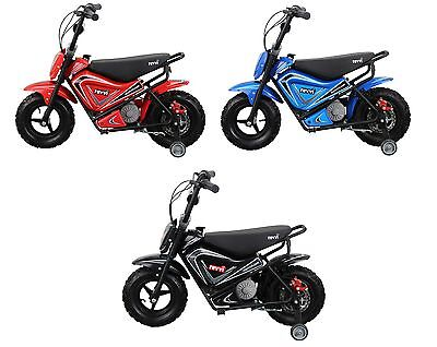 Revvi electric kids bike motorbike motorcycle 24v 250w battery powered children