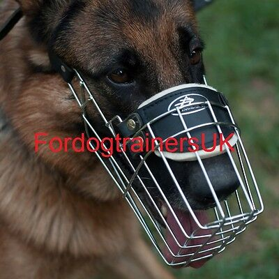 German Shepherd Muzzle for Large Dogs   Big GSD Muzzle for Dog Individual Snout