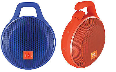 JBL Clip+ Rugged Splashproof Rechargeable Portable Bluetooth Speaker Phone / MP3