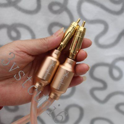 A Pair Accuphase  RCA Plug interconnect  Audio Cable 1.0M