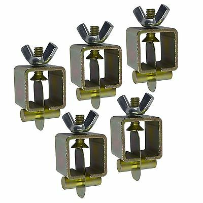 Intergrips butt weld clamps sheet metal fasteners 5pk