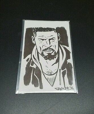 Original Art Sketch Commission - The Prowler/Uncle Aaron by Chris Samnee MOVIE!!