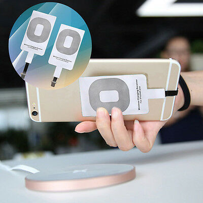 For Type-C Micro-USB Phone iPhone 7 Samsung Huawei QI Wireless Charging Receiver