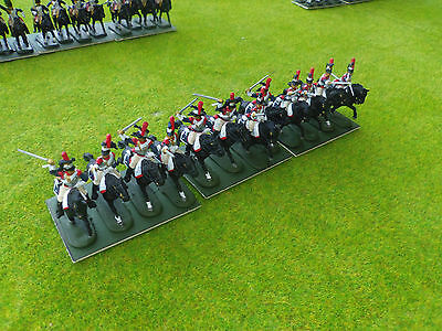 1/72 20mm painted Napoleonic French Cuirassiers #2
