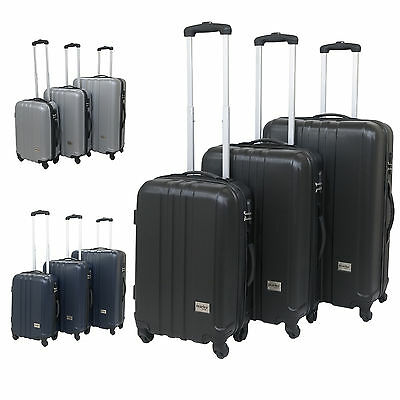 Hard Shell Suitcase Trolley Luggage Travel Cabin Bag Small Medium Large Case