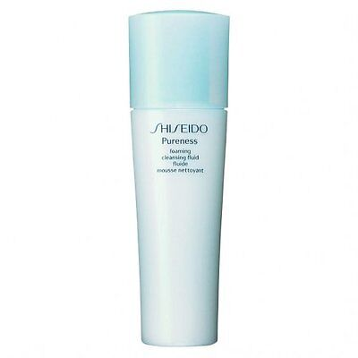 Shiseido Pureness Foaming Cleasing Fluid 150Ml - Lozione Detergente Schiumosa