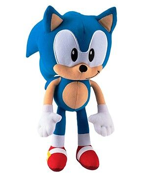 """New Authentic  Sonic the Hedgehog 13"""" Plush Collectors Edition Rare"""