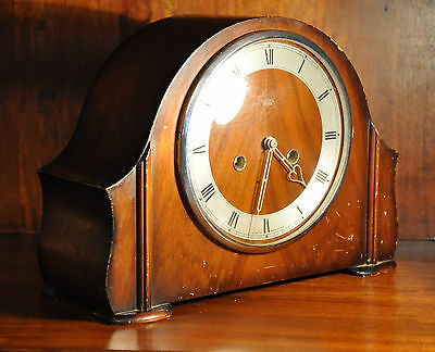 Smiths Enfield Mantle Clock  Art Deco (0062)