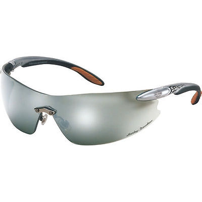 Harley-Davidson HD802 Motorcycle Silver Mirror Lens Safety In/Outdoor Glasses